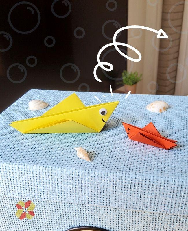 Pez Saltarín de Origami - Portada2