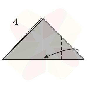 Ranita de Origami - Paso 4