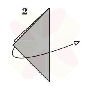 Velero de Origami - Paso 2