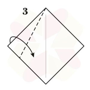 Velero de Origami - Paso 3