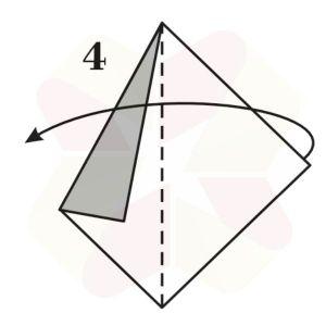 Velero de Origami - Paso 4