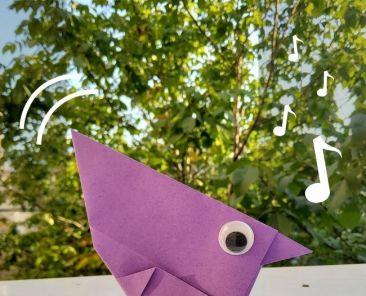 Gorrión de Origami - Portada 1