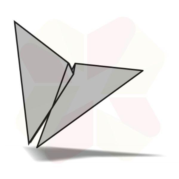 Mariposa de Origami - Terminada