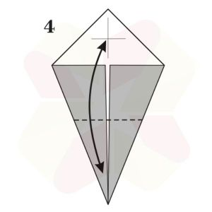 Pato de Origami - Pasos 4