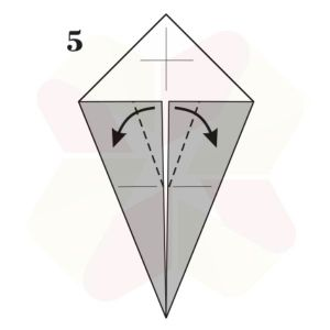 Pato de Origami - Pasos 5