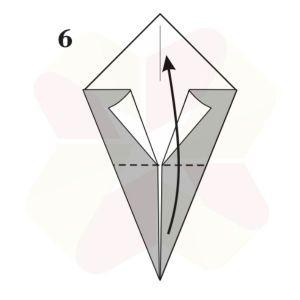 Pato de Origami - Pasos 6