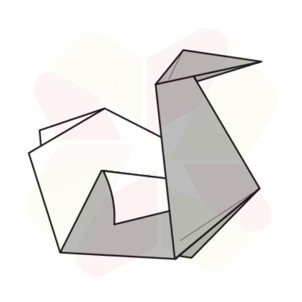 Pato de Origami - Terminado