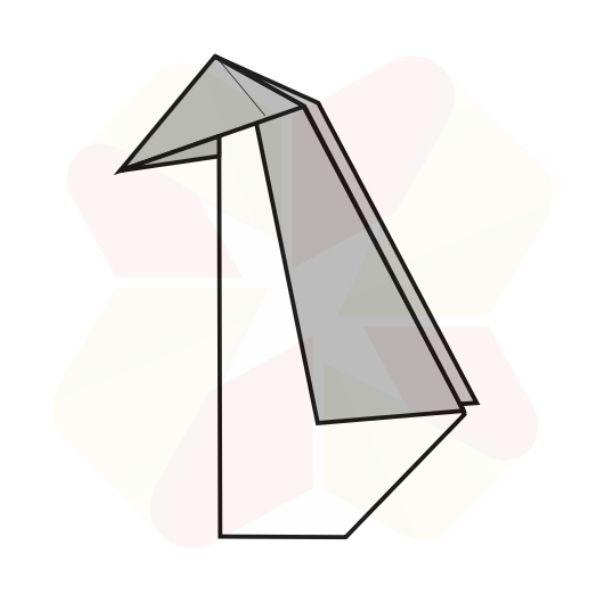 Pinguino de Origami - Terminado