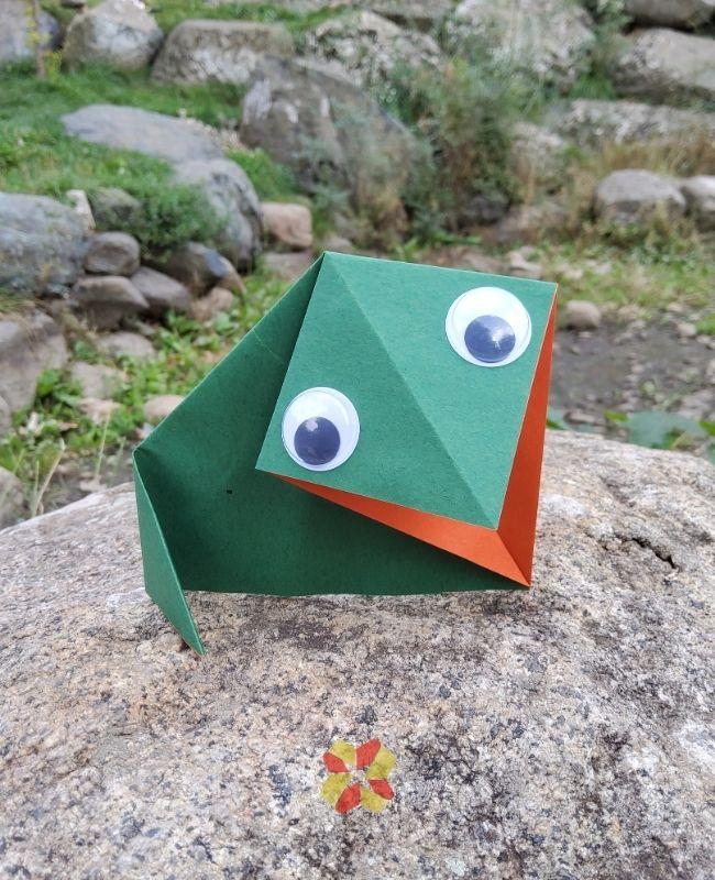 Sapito de Origami - Portada 1