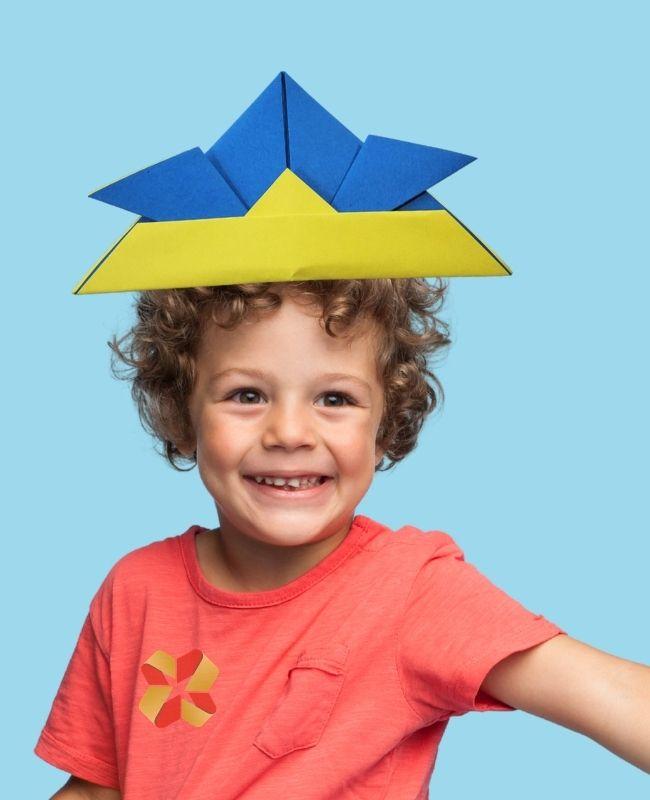 Sombrero Samurái de Origami - Portada 1