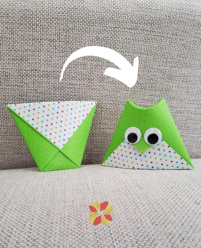 Vasito y Buhito de Origami - Portada 1