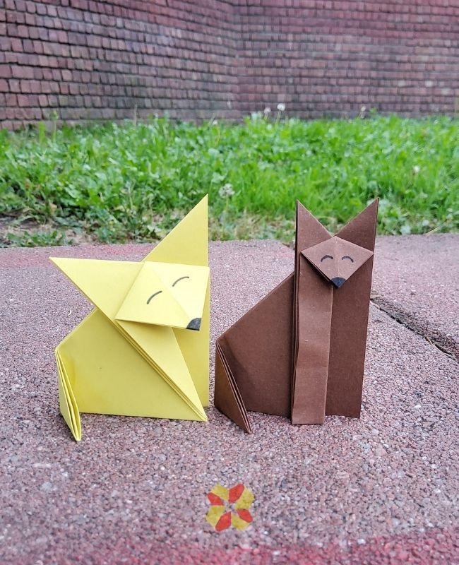 Zorrito de Origami - Portada 1